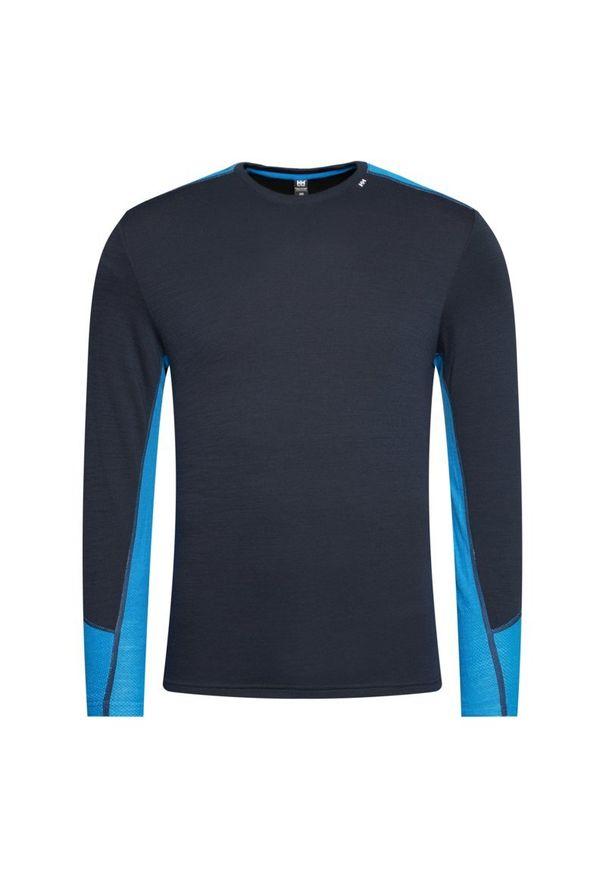 Niebieska koszulka sportowa Helly Hansen