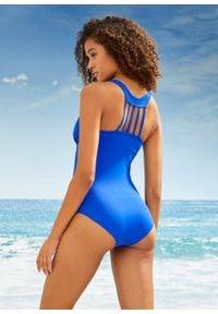 Kostium kąpielowy przyjazny dla środowiska bonprix Kostium kąp prz.śr nieb. Kolor: niebieski. Materiał: materiał