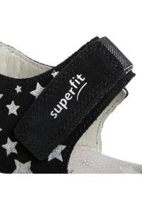 Czarne sandały Superfit z aplikacjami #6