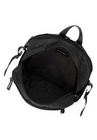 Wittchen - Plecak basic mały. Kolor: czarny. Materiał: poliester. Wzór: paski. Styl: casual