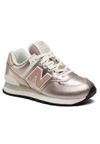 Złote buty sportowe New Balance New Balance 574