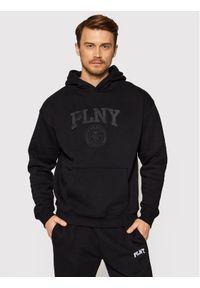 PLNY Textylia Bluza Stanford 00003 Czarny Regular Fit. Kolor: czarny