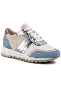 Geox Sneakersy D Tabelya A D02AQA 02211 C0004 Beżowy. Kolor: beżowy