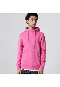 Różowa bluza Cropp z kapturem