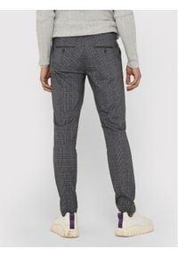 Only & Sons - ONLY & SONS Spodnie materiałowe Mark 22018649 Szary Regular Fit. Kolor: szary. Materiał: materiał