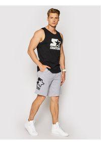 Starter Szorty sportowe SMG-018-BD Szary Regular Fit. Kolor: szary