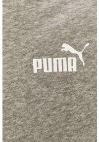 Szary komplet dresowy Puma gładki