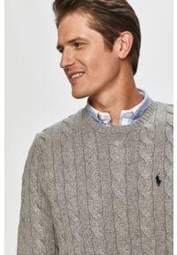 Szary sweter Polo Ralph Lauren melanż, polo
