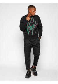 MSGM Bluza 2940MM92 207599 Czarny Regular Fit. Kolor: czarny