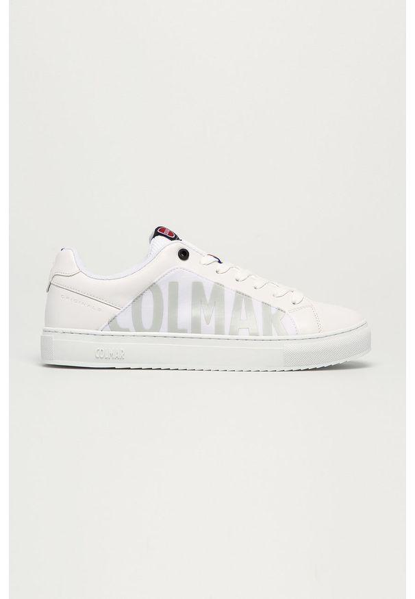 Colmar - Buty. Nosek buta: okrągły. Zapięcie: sznurówki. Kolor: biały. Materiał: skóra ekologiczna, syntetyk, materiał, guma. Szerokość cholewki: normalna