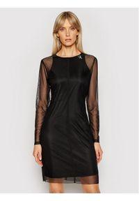 Calvin Klein Jeans Sukienka codzienna J20J215666 Czarny Slim Fit. Okazja: na co dzień. Kolor: czarny. Typ sukienki: proste. Styl: casual