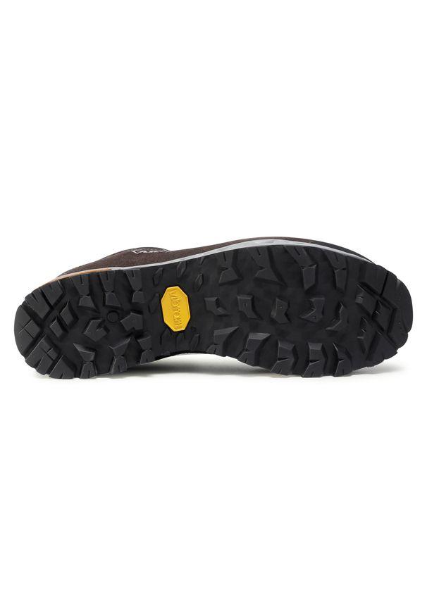 Czarne buty trekkingowe Aku z cholewką, trekkingowe