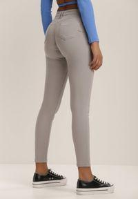 Szare spodnie skinny Renee