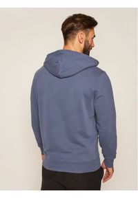 Levi's® Bluza NEw Original Hoodie 34581-0002 Granatowy Regular Fit. Kolor: niebieski