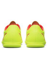 Buty piłkarskie halowe Nike Mercurial Vapor 14 Club IC CV0980. Materiał: skóra, materiał, syntetyk. Szerokość cholewki: normalna. Wzór: jodełka, gładki. Sport: piłka nożna