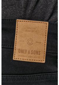 Only & Sons - Jeansy Loom. Kolor: czarny
