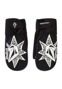 Czarne rękawiczki sportowe Volcom narciarskie