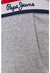 Pepe Jeans - Spodnie piżamowe Tate. Kolor: szary. Materiał: dzianina