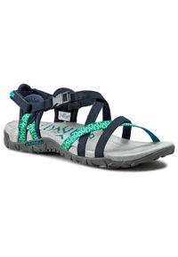 Niebieskie sandały Merrell na co dzień, casualowe