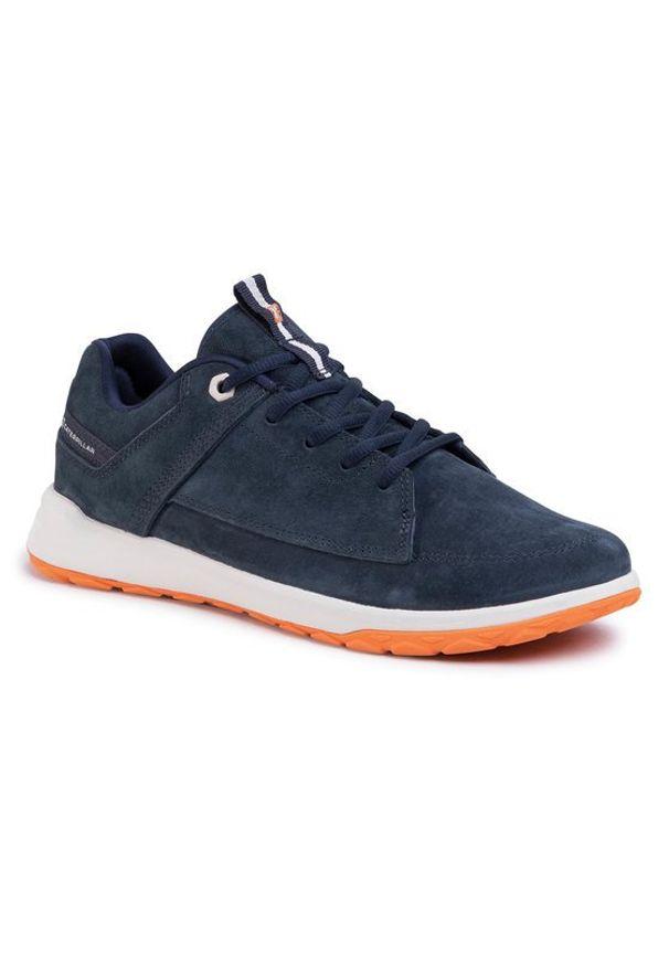 CATerpillar Sneakersy Quest P724165 Granatowy. Kolor: niebieski