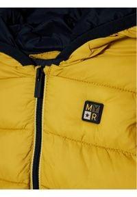 Mayoral Kurtka puchowa 2487 Żółty Regular Fit. Kolor: żółty. Materiał: puch