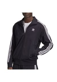 Czarna bluza Adidas sportowa, długa