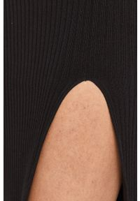 Czarna sukienka Miss Sixty klasyczna, dopasowana