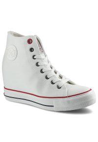 Cross Jeans - Sneakersy CROSS JEANS II2R4024C Biały. Kolor: biały