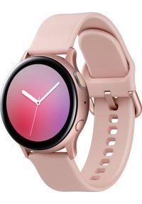 SAMSUNG - Smartwatch Samsung Galaxy Watch Active 2 Alu 40mm Różowe złoto (SM-R830NZDAXEO). Rodzaj zegarka: smartwatch. Kolor: złoty, różowy, wielokolorowy