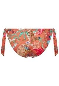 Triumph Dół od bikini Botanical Leaf Tai 10207924 Pomarańczowy. Kolor: pomarańczowy