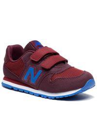 New Balance Sneakersy YV500TPR Bordowy. Kolor: czerwony
