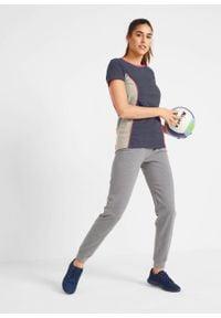 Shirt sportowy, krótki rękaw bonprix nocny niebieski - różowy neonowy. Kolor: szary. Długość rękawa: krótki rękaw. Długość: krótkie. Styl: sportowy #2