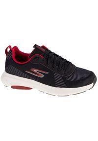 Czarne buty do biegania skechers z cholewką
