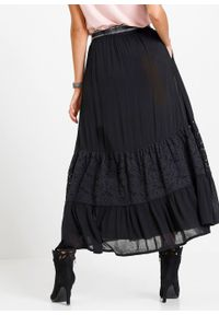 Czarna spódnica bonprix
