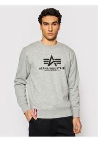 Alpha Industries Bluza Basic Sweater 178302 Szary Regular Fit. Kolor: szary