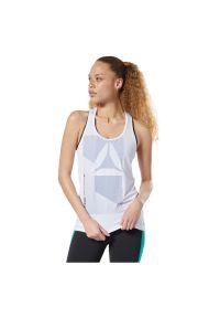 Reebok - Koszulka damska bez rękawów Activchill Graphic EC1178. Materiał: elastan, tkanina, nylon, poliester. Długość rękawa: bez rękawów. Sport: fitness