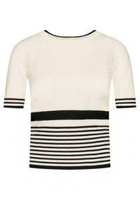 Beżowa bluzka Luisa Spagnoli