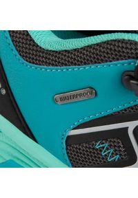 Czarne buty trekkingowe Hi-tec z cholewką, trekkingowe