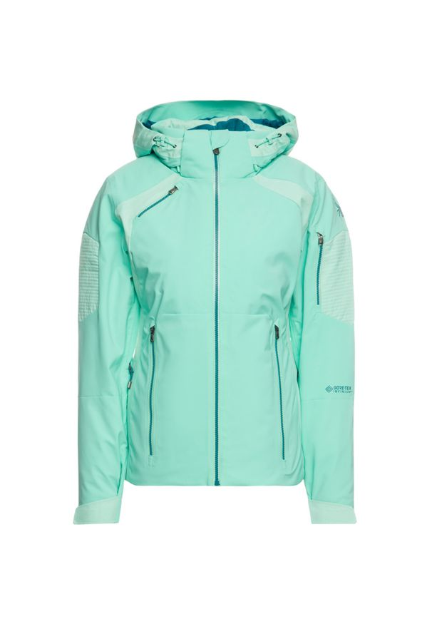 Zielona kurtka narciarska Spyder