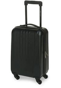 Czarna walizka Leonardo