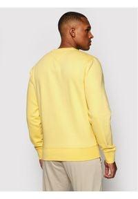 TOMMY HILFIGER - Tommy Hilfiger Bluza Logo MW0MW11596 Żółty Regular Fit. Kolor: żółty