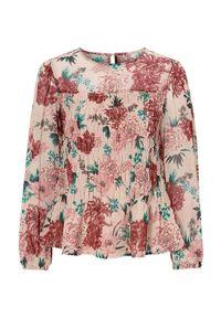 Bluzka Cellbes w kwiaty, długa