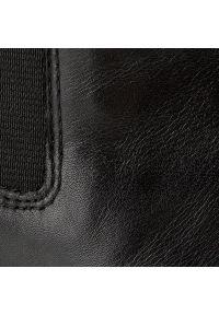 vagabond - Botki VAGABOND - Marja 4213-501-20 Black. Kolor: czarny. Materiał: skóra. Szerokość cholewki: normalna. Obcas: na obcasie. Wysokość obcasa: średni