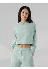 4f - Bluza dresowa damska. Materiał: dresówka