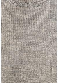Szary sweter Clean Cut Copenhagen długi, z długim rękawem