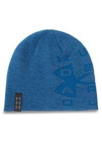 Niebieska czapka zimowa Under Armour