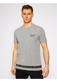 EA7 Emporio Armani T-Shirt 3KPT05 PJ03Z 3905 Szary Regular Fit. Kolor: szary