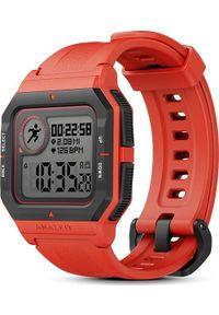 AMAZFIT - Smartwatch Amazfit Neo Czerwony (A2001). Rodzaj zegarka: smartwatch. Kolor: czerwony