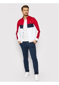 Lacoste Bluza SH9543 Czerwony Regular Fit. Kolor: czerwony