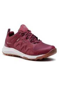 Czerwone buty trekkingowe keen